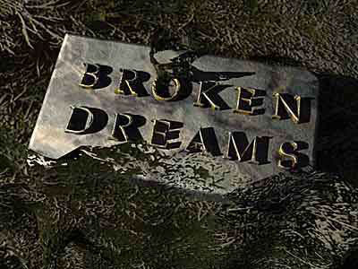 my broken dream My broken dream are a 5-piece rock covers band playing all the classics from thin lizzy, thunder, ufo and the likes made up of ex 70's clubland vets with 3-part harmonies, keyboards and two guitars.