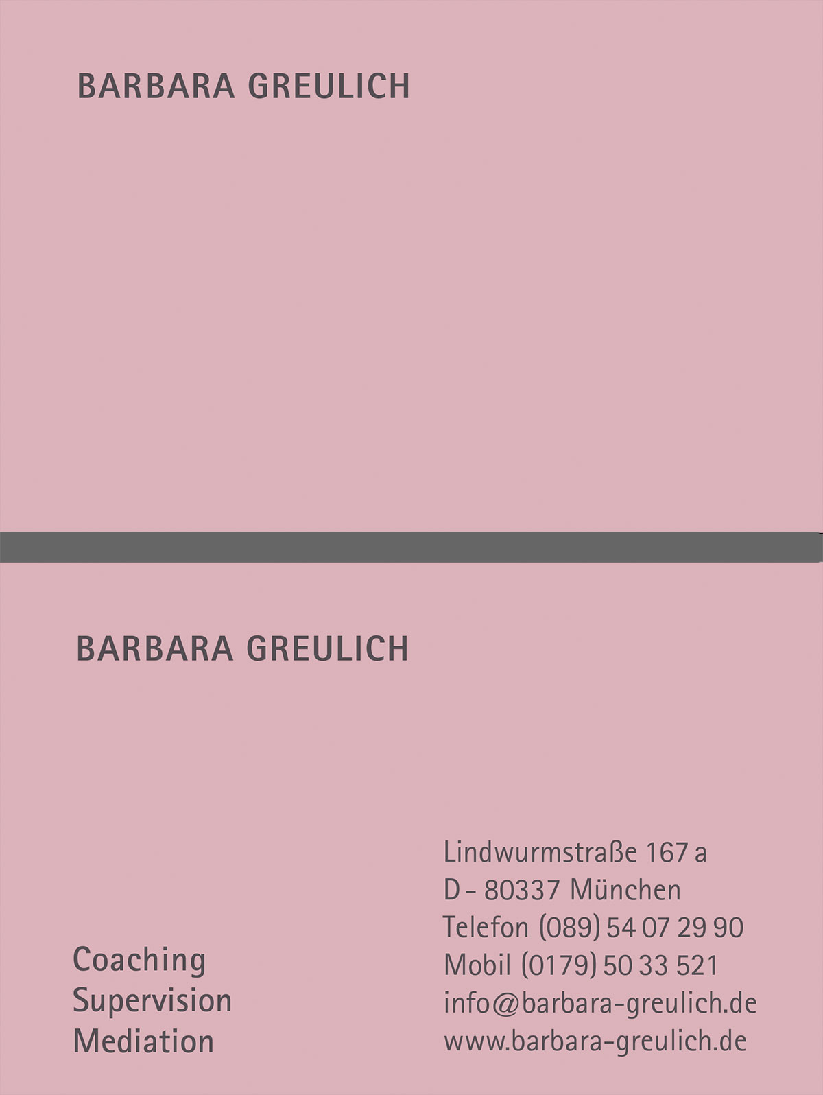logo – Barbara Greulich - Mediation